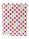 Caso Dot Design posteriore dura / copertura per iPad2/3/4