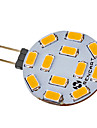 5W G4 LED Spotlight 12 SMD 5730 300-320 lm Warm White / Cool White DC 12 / AC 12 V