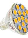 5W GU5.3(MR16) Точечное LED освещение MR11 15 SMD 5050 250-280 lm Тёплый белый AC 12 V