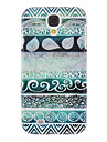 Green Stripes Painting Pattern Plastic Hard Back Case Cover for Samsung Galaxy S4 I9500