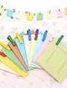 DIY Colorful 3 pulgadas 10 Patron Paquete Paisaje Hanging Frame Photo Paper