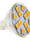 4W GU5.3(MR16) LED Spot Lampen MR11 12 SMD 5050 210-250 lm Warmes Weiss AC 12 V
