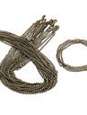 Vintage Bronze Alloy Chains 10 Pcs/Bag