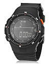 Men\'s Multi-Functional Digital Dial Rubber Band Wrist Watch