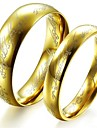 классические любителей нержавеющей стали Властелин колец пару колец (2 шт)