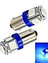 BA9S Carro Azul 1W SMD 5050 5000-5500Luz de Sinal de Direcção Luz de Travão Luz de marcha atrás Luz Instrumento Luz de Leitura Luz de