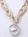 Fashion   White Pearl Strands Necklace (1 Pc)