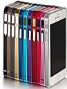 아이폰 4/4S (분류 된 색깔)를위한 매우 얇은 금속 구조