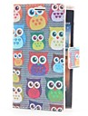 Owls Leather Case with Card Slot and Stand for LG L5/E610/E612