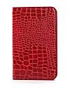 Crocodile Grain Pattern Protective PU Leather Case for Samsung Galaxy Tab 3 Lite T110