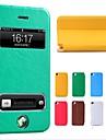 nouvelle puce flip luxe Housse en cuir pour iPhone 5 / 5s (couleurs assorties)