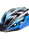 FJQXZ EPS+PC Blue and Black Integrally-molded Cycling Helmet(18 Vents)