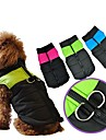 Nylon Winter Waterproof Stylish Dog Harness Jacket for Pets Dogs(XS/S/M/L/XL, Pink, Blue, Green)