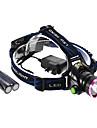 Linternas de Cabeza LED 3 Modo 1200 Lumens A Prueba de Agua / Recargable / autodefensa Cree XM-T6 L2 18650.0 Multiples Funciones - Otros