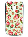 Pretty Rose Flower Pattern Hard Case voor Samsung Galaxy Trend Duos S7562