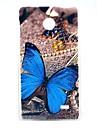Beautiful Butterfly Pattern Hard Case for Nokia X