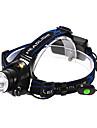 Adjustable Focus 3-Mode 1xCree XM-L T6 Waterproof Headlamp(2x18650,1200LM)