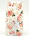 Beautiful Rose Flower Pattern Plastic Hard Case for Motorala Moto G