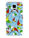 For Samsung Galaxy Case Pattern Case Back Cover Case Geometric Pattern PC Samsung S5