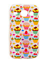 Strawberry Cake Pattern Soft Case for Samsung Galaxy Core I8262