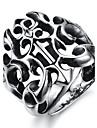 남성용 밴드 반지 의상 보석 티타늄 스틸 보석류 제품 파티 일상 캐쥬얼 스포츠