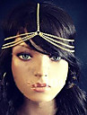 Shixin® Ethnic Three Layers Chain With Tessel Gold Alloy Headbands For Women(1 Pc)