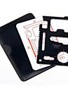 Stainless Steel Portable Multi-function Tool Knife Crewdriver Opener  Card