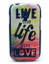 Live and Life of Sea Pattern Hard Case for Samsung Galaxy S3 Mini I8190