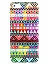 Imagem costura padrão rígido caso capa para o iPhone 5/5S