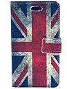 Retro UK Flag PU Leather Hard Case with Card Slots for Samsung Galaxy Trend Duos S7562