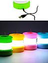 ABS USB luz de la noche del LED (colores surtidos)