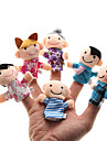 Parents-child Plush Figure Finger Puppets