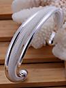 Bracelet Manchettes Bracelets Cuivre / Plaque argent Mariage / Soiree / Quotidien / Decontracte Bijoux Cadeau Argent,1pc