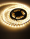 Los 5M 72W 300x5050SMD 3000-3500K luz blanca calida Lampara LED Strip (12V DC)
