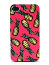 Hard Case fond rose Ananas Motif pour iPhone 4/4S