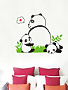 Panda Pattern Wall Sticker(1PCS)