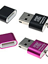 SIYOTEAM SY-T18 USB 2.0 Micro SD/Micro TF Card Reader (Assorted Color)
