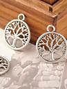 eruner®38 * encantos 16 milímetros liga árvore vida pingentes jóias diy (10pcs)
