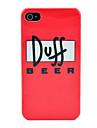 Doff Beer Pattern Hard Case för iPhone 4/4S