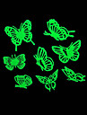 Romantic House Absorptiometric Night Lights Stickers-Butterfly