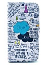 """OKAY"" Words Scrawl Pattern PU Leather Full Body Case for Samsung S3 I9300"