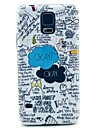 Okay Letter Pattern Hard Case Cover for Samsung Galaxy S5 I9600