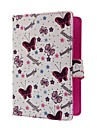 "Universal H1 Butterfly Style 7"" Tablet Protective Case Stand Cover"
