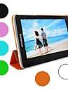 """urso tímido ™ caso inteligente magro original da capa de couro para Lenovo S5000 7 """"polegadas tablet"""