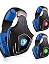 sades a60 hörlurar USB över örat surroundljud spel med mikrofon för PC