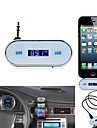 Wireless 3.5mm In-car LCD Display Fm Transmitter for Apple iPhone 5 Samsung Galaxy S2 SII S3 SIII S4 SIV i9500 Note 2 Note 3