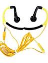 universell 3,5 mm öronkrok hörlurar / mikrofon för iphone htc Samsung och andra