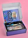 радуга красочный стиль ткацкий станок DIY плетеный набор (резиновая лента 600 шт, с пряжкой 12 шт, вязание крючком, плетение инструменты)