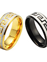 Unico anel de graos e de titanio de aco de alta qualidade Belas masculina