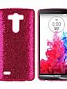 반짝이 가루 가죽 G3의 D850을 LG에 대한 하드 케이스를 코팅 (모듬 색상)